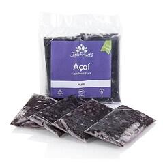 Piure de Acai, 100% Pur, BIO, Congelat, 4 x 100g, 400g - JoJu Fruits