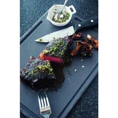 Platou din Portelan Negru pentru Steak