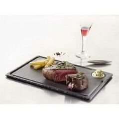Platou din Portelan Negru pentru Steak 2