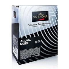Ciocolata Couverture Neagra, Ariaga Noir, callets, 66% Cacao, 5Kg - VALRHONA