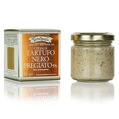 Crema cu Trufe Nobile de Iarna (5% Tuber Melanosporum), 90 g - TartufLanghe, Italia