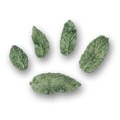 Frunze de Menta Verde, Cristalizate