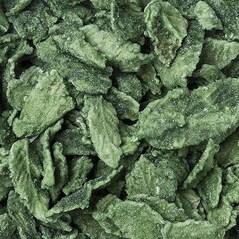 Frunze de Menta Verde, Cristalizate, 1Kg - Quai Sud
