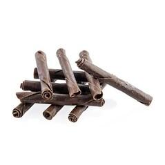 """Tigarete de Ciocolata Neagra - """"Mini Panatella"""", 4,5cm, 310buc. - Dobla"""