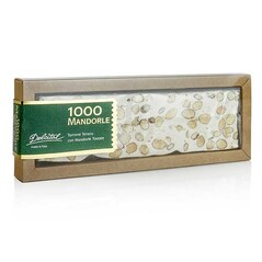 Torrone Italian cu Migdale, 1000 Mandorle, Tableta Moale, 180g - Dolcital