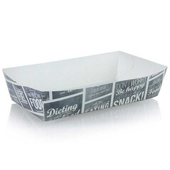 Cutie din Carton L, pentru Cartofi Prajiti, 150x70x35mm, 400 buc.