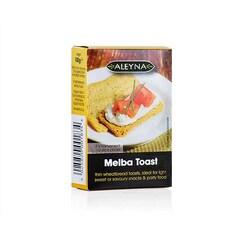 Melba Toast, Felii Subtiri de Paine Prajita, 30 buc., 100g - Aleyna