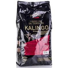 "Ciocolata Couverture Neagra, Kalingo ""Grand Cru"", pastile, 65% Cacao, 3Kg - VALRHONA"