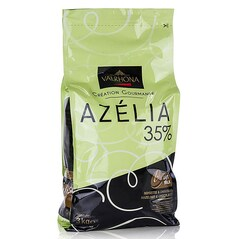 Ciocolata Couverture cu Lapte si Alune de Padure, 35% Cacao, Callets, Azélia, 3Kg - VALRHONA