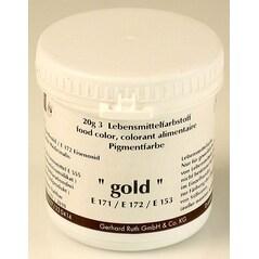 Colorant Alimentar Auriu, Pudra LipoSolubila, 9560, 20g - Ruth