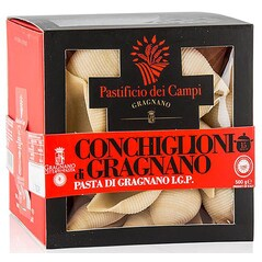 Conchiglioni No.57 - Paste de Gragnano I.G.P., 500 g - Pastificio dei Campi, Italia
