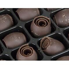Decor Ciocolata Neagra Butter Curly™, 200buc., 400g - Callebaut2