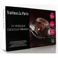 Fondant de Ciocolata, Congelat, 10 buc. x 90g, 900g - Traiteur de Paris