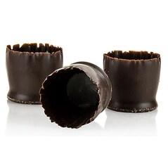 "Forme de Ciocolata Neagra - ""Snobinettes"", ø 23-27mm, h26mm, 90buc., 430g - Mona Lisa"