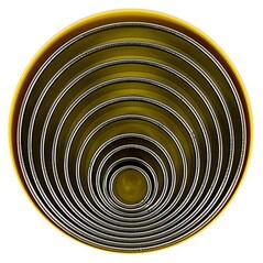 Inele de Bucatarie Rotunde, Inox, ø 2,2 - 14cm , 3cm inaltime, Set 10 buc. - Städter