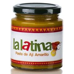 Pasta de Ardei Iute Galben, Pasta de Aji Amarillo, 225g - La Latina