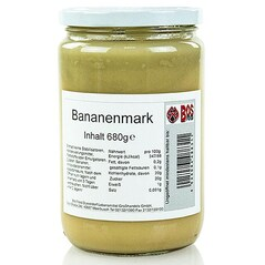 Piure de Banane, Fin, 680g - Bos Food