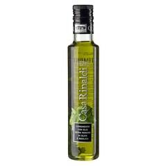 Ulei de Masline Extravirgin cu Busuioc, 250 ml - Casa Rinaldi, Italia