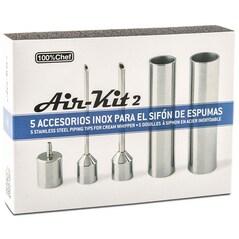 Air-Kit 2, Accesorii pentru Sifon de Espumas - 100% Chef1