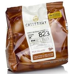 Ciocolata Couverture cu Lapte, pastile, 33,6% Cacao, 400g - Callebaut