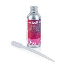 Colorant Alimentar Natural ROSU, Lichid, 100 ml - SOSA