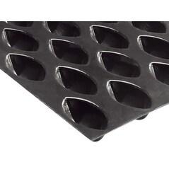 Folie Cu Forme De Mini-Quenelles Flexipan®, 60 x 40 cm, 100 Amprente de 4,2 x 2,2 x 1,7 cm - Demarle, Franta2