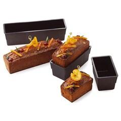 Forma Chec (Cake), Bordura 5mm, EXOGLASS®, 250 x 80 x 80mm - Matfer