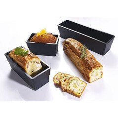 Forma Chec (Cake), Bordura 5mm, EXOGLASS®, 250 x 80 x 80mm - Matfer2