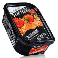 Piure de Capsuni Gariguette, cu Zahar, Congelat, 1 Kg - Ponthier