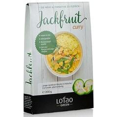 Pulpa de Jackfruit cu Curry, Cuburi Pre-Fierte, Vegan, BIO, 200g - Lotao
