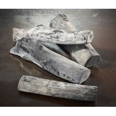 Carbuni din Lemn Alb, Binchotan Toku-Wari, din Tosa, Ø30 - 60mm, Lungime 150 - 220mm, 12Kg - Japonia