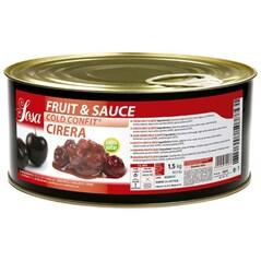 Fruit & Sauce de Visine Amarena Intregi, 1,5 x 1,5cm, Cold-Confit, 1.5Kg - SOSA1