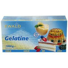 Gelatina in Foi, Gold, cca. 500 Foi (210 Bloom), 1Kg - EWALD