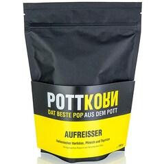 Popcorn (Floricele de Porumb) cu Branza Tare, Piersici si Cimbru, Aufreisser, 150g - PottKorn