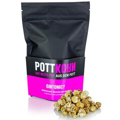 Popcorn (Floricele de Porumb) cu Caramel cu Unt, Ienupar si Lime, GinTonic?, 80g - PottKorn