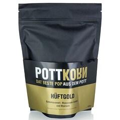Popcorn (Floricele de Porumb) cu Caramel cu Unt, Muscovado si Sare de Mare, Hüftgold, 150g - PottKorn