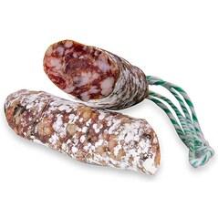 Carnat Crud-Uscat (Saucisson) cu Masline Negre, 135g - Terre de Provence