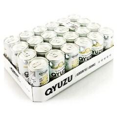 Apa Tonica cu Suc de Yuzu Veritabil, 24 x 200ml, 4,8 litri - Qyuzu