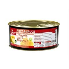 Fruit & Sauce de Coaja de Lamaie, Cubulete de 5 x 5mm, Cold-Confit, 1.5Kg - SOSA