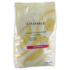 Masa (Pasta) Decor cu Gust de Capsuni, pastile, 2.5Kg - Callebaut1