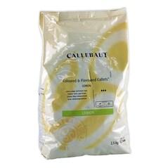Masa (Pasta) Decor cu Gust de Lamaie, pastile, 2.5Kg - Callebaut1