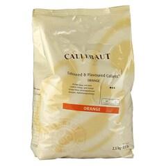 Masa (Pasta) Decor cu Gust de Portocale, pastile, 2.5Kg - Callebaut1