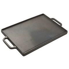 Plancha/Grill Reversibil, Fonta Emailata, 35 x 50cm