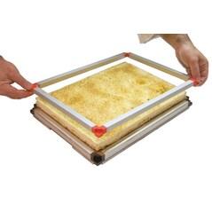 Cadru Stivuibil Special pentru Chitara, Kit de Baza (1 Tava + 1 Rama), 38 x 38 x h 1cm - Matfer2