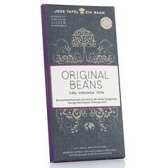 Ciocolata Amaruie BIO, 70% Cacao, Cru Virunga Congo, Tableta, 70g - Original Beans