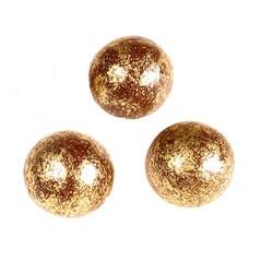 Drajeuri Aurite, Cereale Expandate Invelite in Ciocolata, Gold, pentru Decor, ø 1cm, 750g - Michel Cluizel, Franta