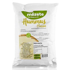 Hummus Classic, Crema de Naut cu Pasta de Susan 1Kg - Mézete