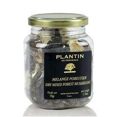 Mix de Ciuperci Uscate (Mélange Forestier), 50 g - Plantin, Franta