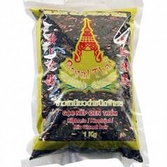 Orez Negru Glutinos (Lipicios), cu Gust de Nuca, pentru Desert, 1Kg - Royal Thai