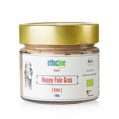 Pate de Foie Gras de Rata, Happy Foie Gras, BIO, 180g, - EthicLine